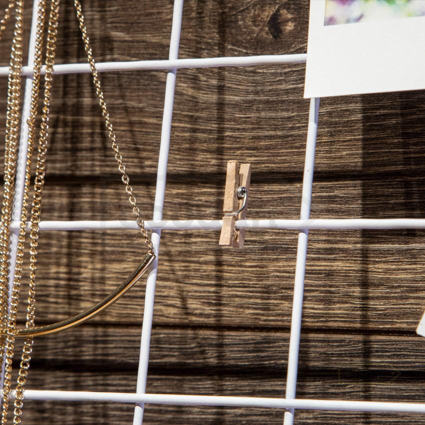 Мудборд (Mooadbord) Wish White 55*40 см - дошка бажань, декоративна решітка