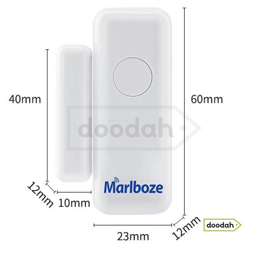 Оконный датчик на разрыв PB-67R для сигнализации Marlboze, 433 МГц. Гарантия 6 мес.