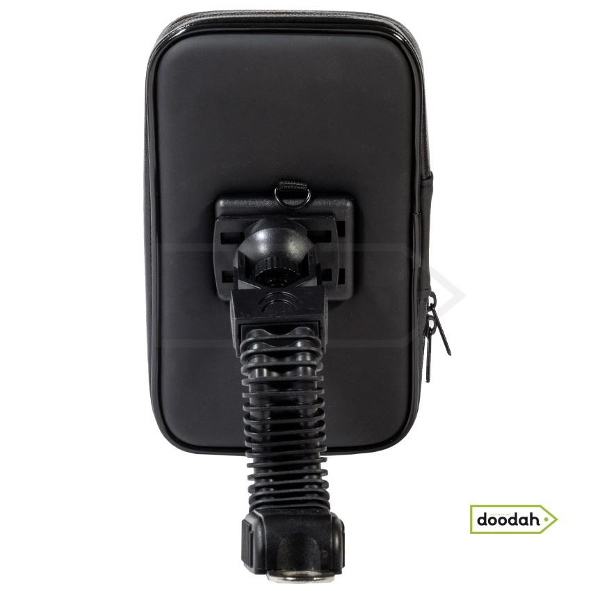 Держатель (холдер) мото для телефона водонепроницаемый - Evolou Flex IP55 - L