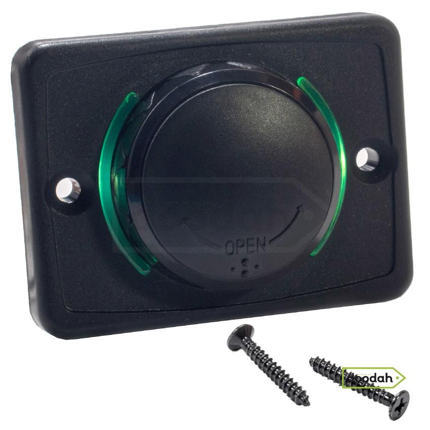 Авто / Мото USB зарядний пристрій Passenger 3 Green, IP 54, 2.1A. Гарантія 6 міс.