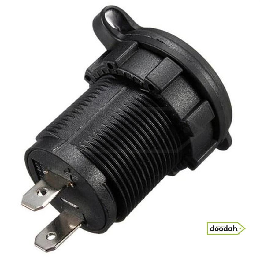 Авто / Мото USB зарядное устройство Recessed PRO S, IP54, 2,1А. Гарантия 6 мес.