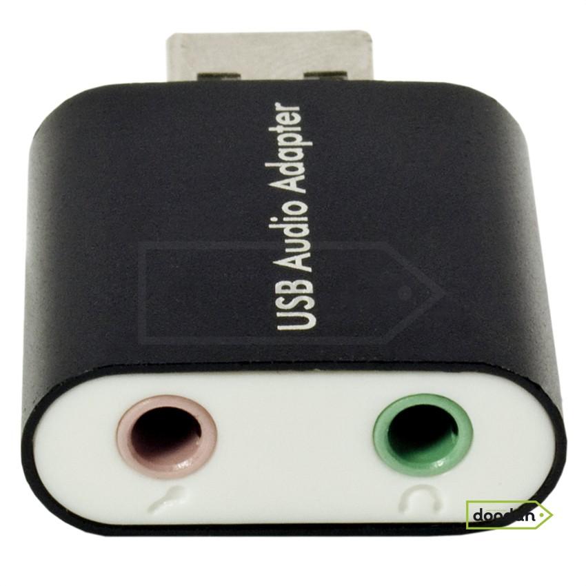 Внешняя звуковая карта USB GoodEm Steel Sound