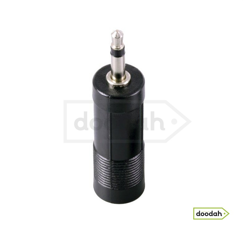 Аудио адаптер переходник 3.5mm на 6.35mm CARPRIE RTC5010 Black