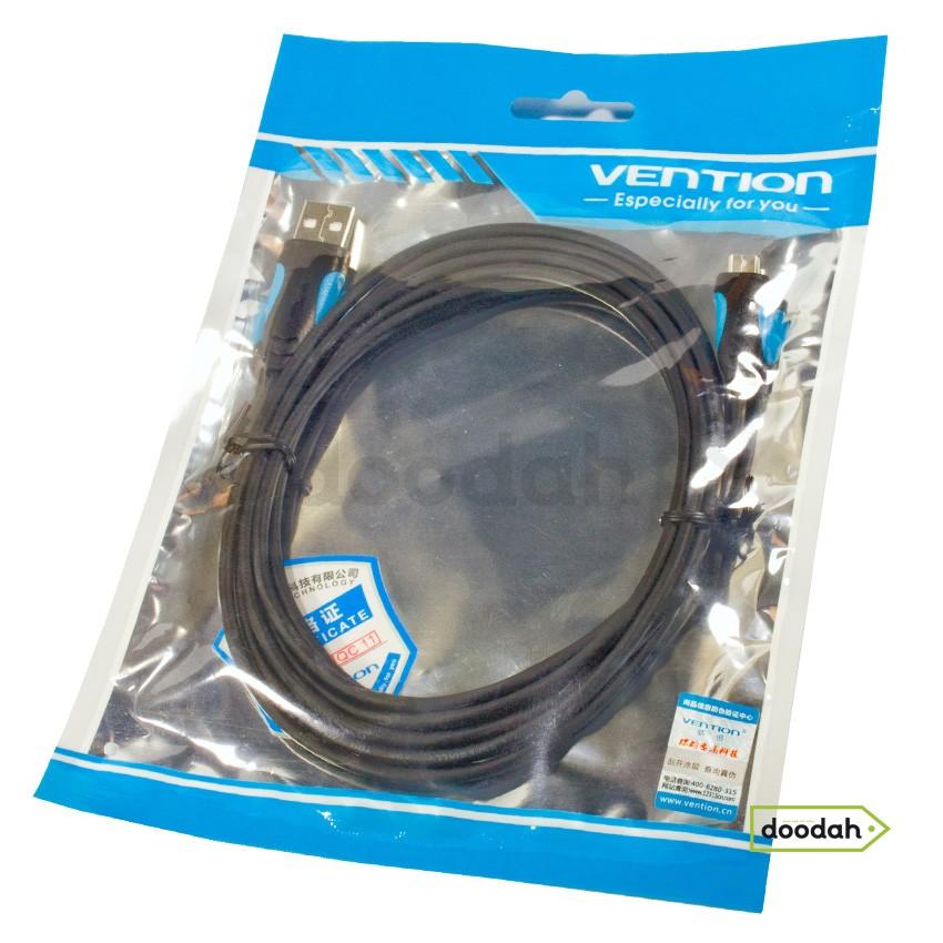 Кабель Data usb / micro usb - Vention 2 М Black