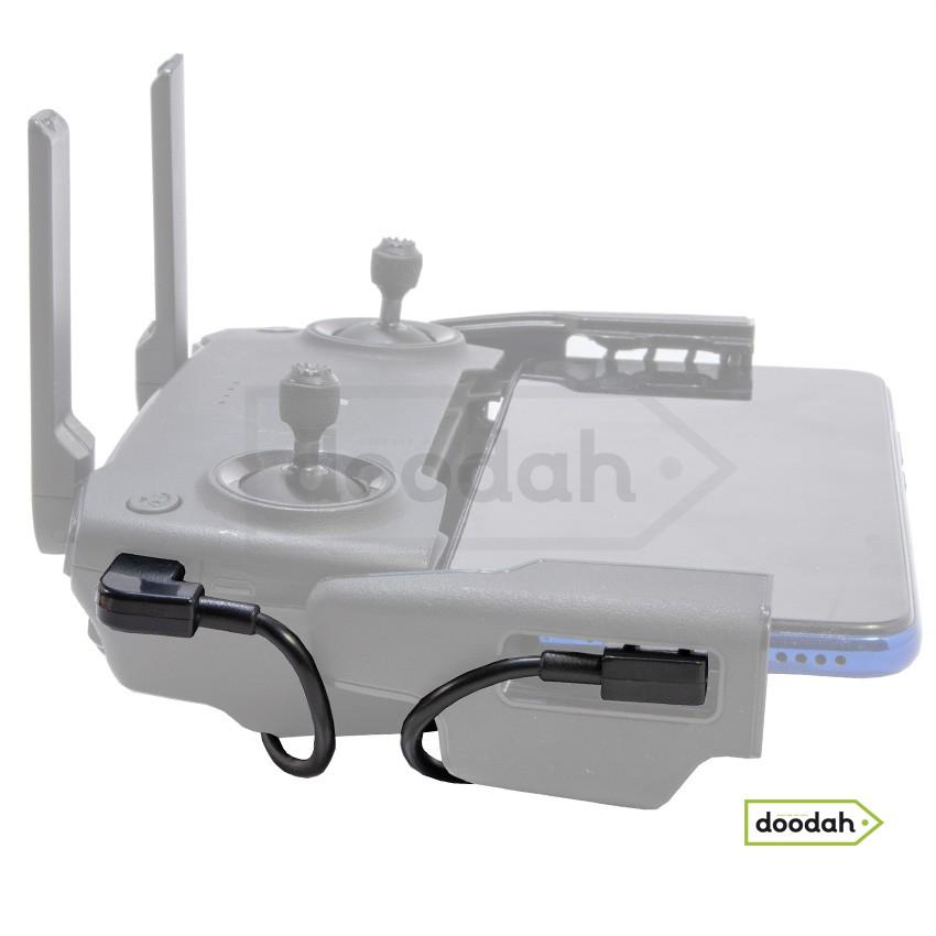Кабель передачі даних OTG Micro USB - Lightning iOS для пульта DJI Spark, AIR, Mavic, Mini, Pro Zoom, Hubson, Zino