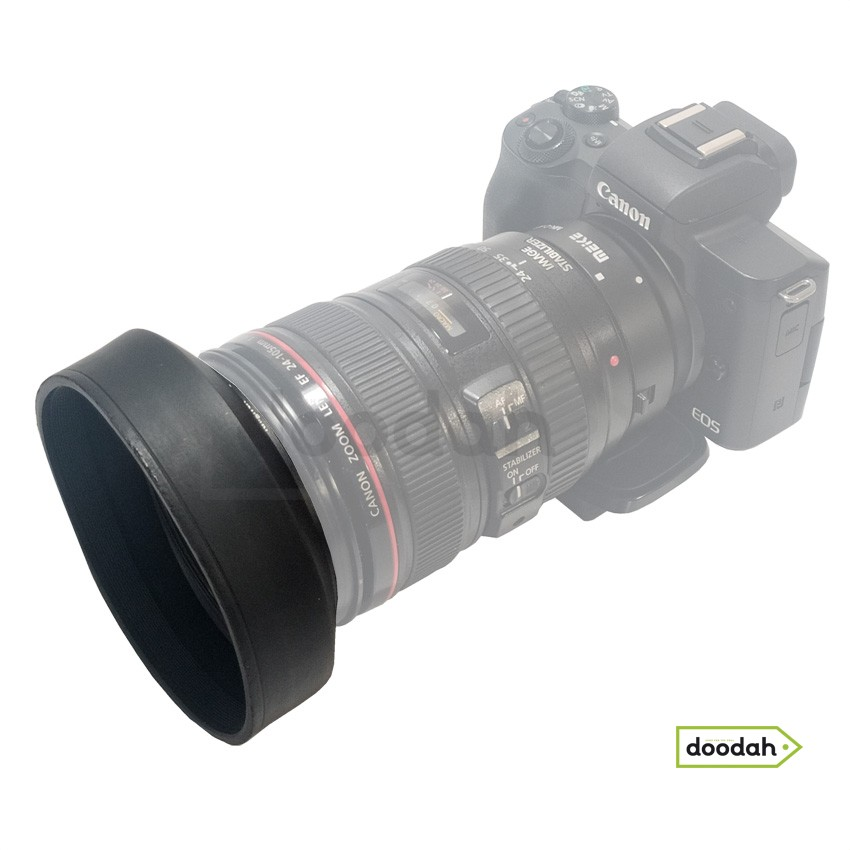 Гумова бленда 77 мм - Photolife Rubber