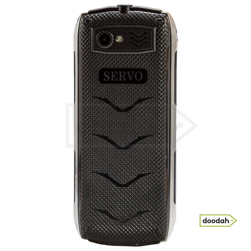 """Servo H8 Black - мобільний телефон 4 sim, 3500 mAH, 2,8"""", MP3-плеєр, GPRS, FM-радіо, Bluetooth, PowerBank. Гарантія 6 міс."""