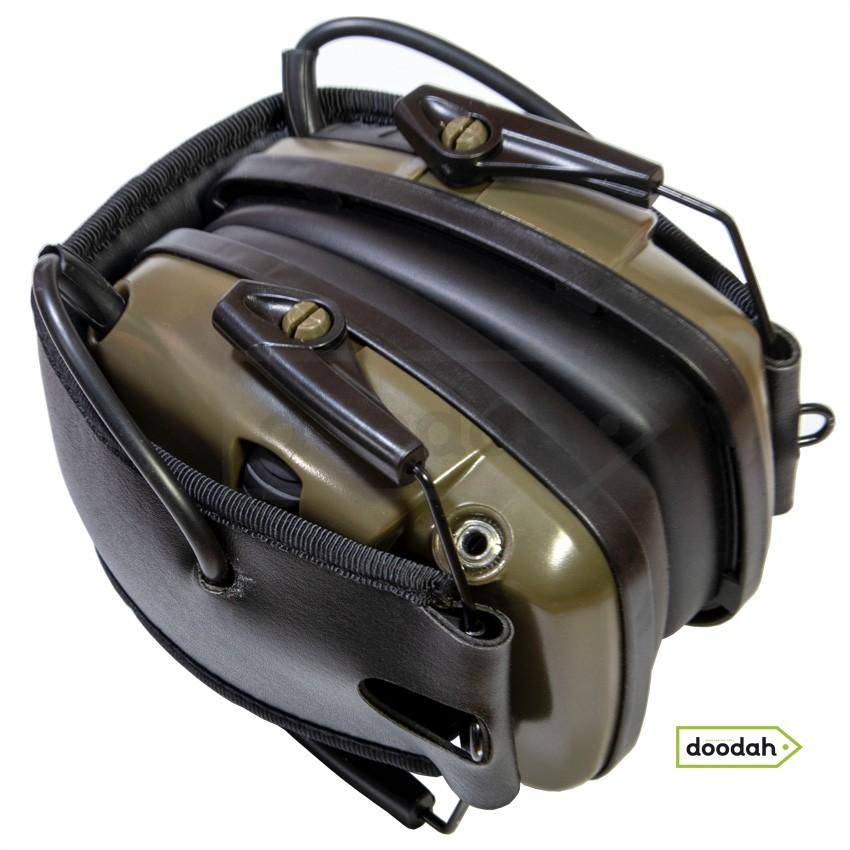Активні навушники для стрільби CARPRIE EM-026 HL-Green