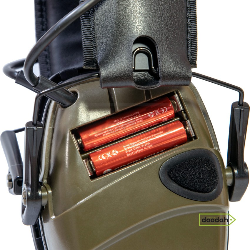Активные наушники для стрельбы CARPRIE EM-026 HL-Green